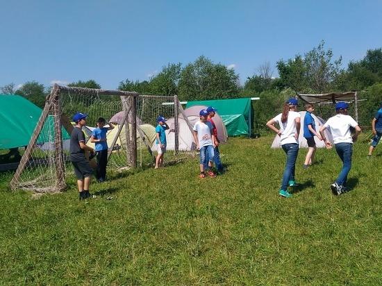 Экологический лагерь «Уста 2018» открылся в Нижегородской области