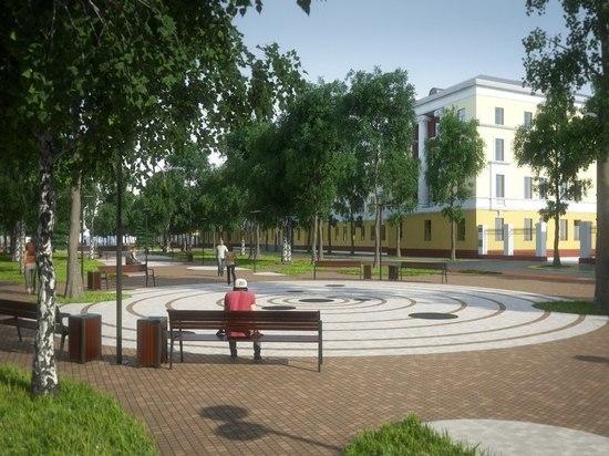 В Электростали появится необычный тротуар-лабиринт