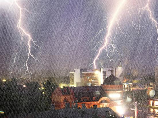 Дожди и гроза ожидаются в Тульской области 7 июля