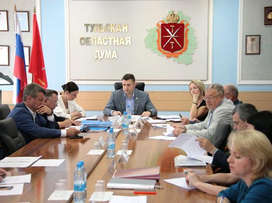 Тульские областные депутаты обсудили бюджет