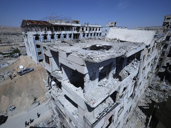 Эксперты ОЗХО нашли следы атаки хлором в сирийской Думе