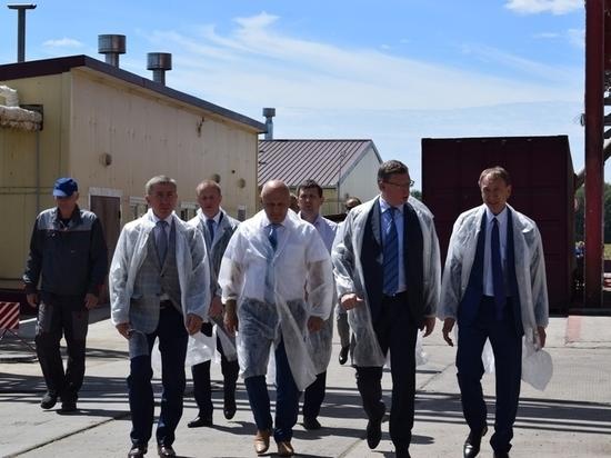 Латария открыл в Омской области завод за 350 млн