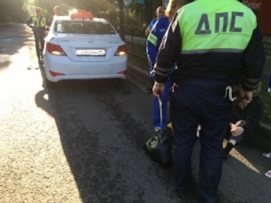 Таксист ранним утром сбил пешехода в центре Калуги