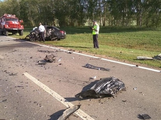 В Татарстане при столкновении двух иномарок погиб человек