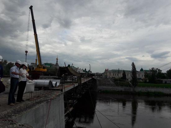 Ремонт Юбилейного моста в Омске достиг кульминации