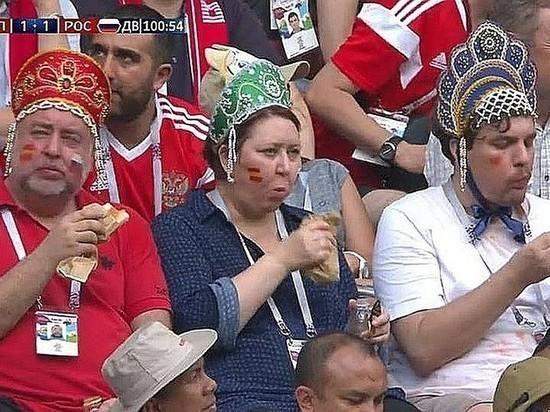 Сосиски приносят победу: прожорливые фанаты России прославились навесь мир, фото