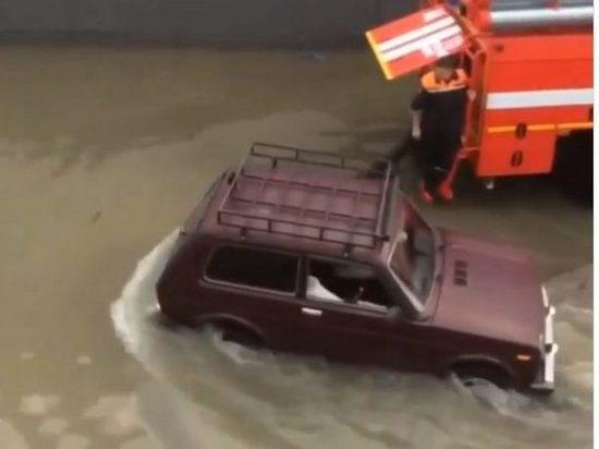 В Сочи продолжается потоп перед матчем Россия - Хорватия