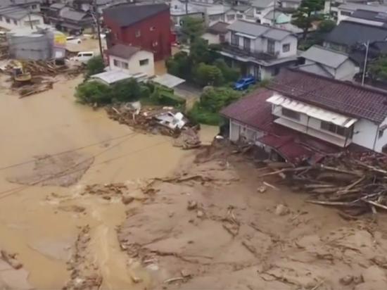 Апокалиптическое наводнение в Японии: число жертв стремительно растет