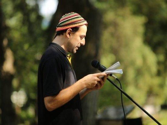 Волгоградские поэты залезли на пенек