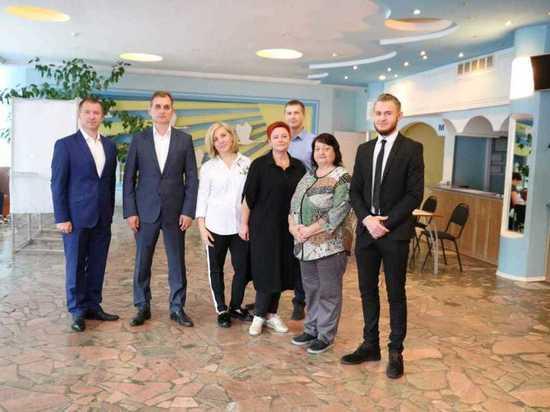 Игорь Ермаков посетил избирательные участки в Серпухове и Серпуховском районе