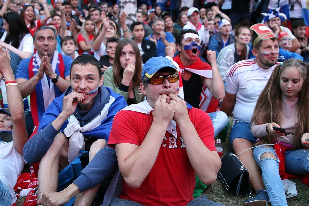 Реакция болельщиков на проигрыш российской сборной Хорватии: надежда и боль