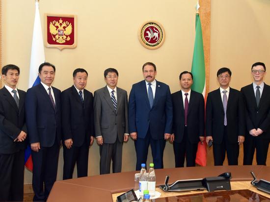 Премьер-министр Татарстана встретился с китайской делегацией