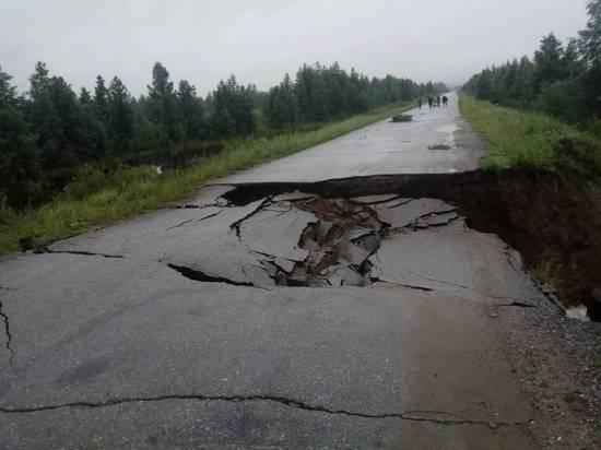 Ни проехать, лишь пройти или последствия затяжных дождей в Бурятии