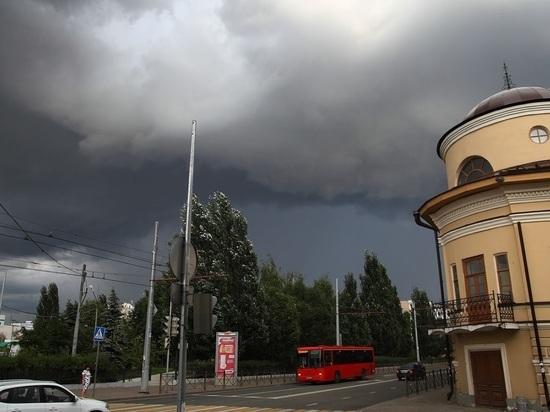 10 июля в Казани вновь ожидаются сильный ветер, грозы и град