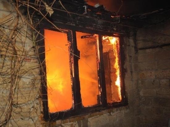 В пожаре в городе Ефремов Тульской области погиб мужчина