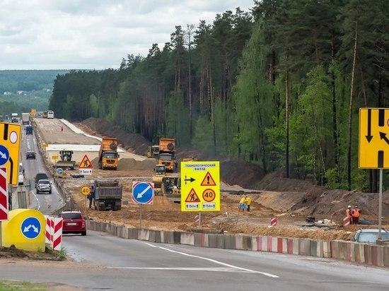 В Калужской области намерены построить три новые трассы