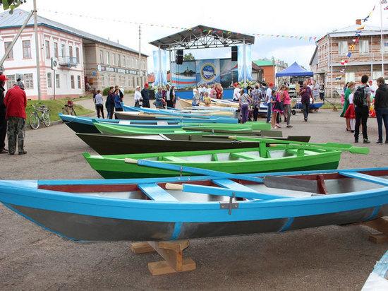 Конкурс лодочного искусства прошел в Вологодской области