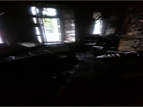 Клуб «Первый» горел в Твери