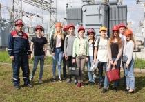 Специалисты Ивэнерго познакомили студентов ИГЭУ с работой подстанции «Ивановская-6»