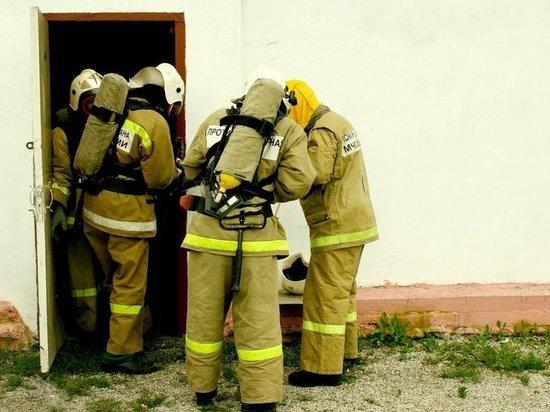 Пожарные отстояли здание в Приморском крае