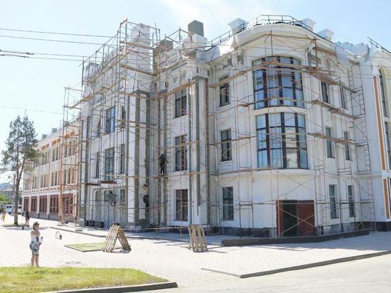 Омский театр «Галерка» обещают сдать к сентябрю
