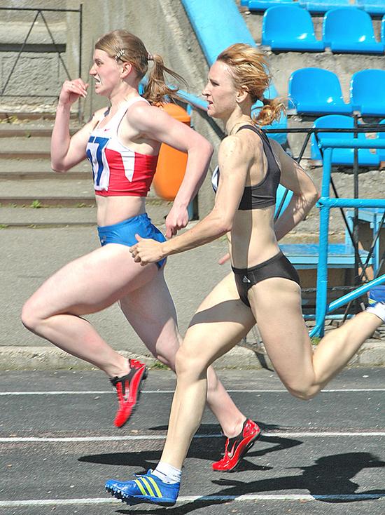 Ставропольская легкоатлетка отличилась в эстафетном беге