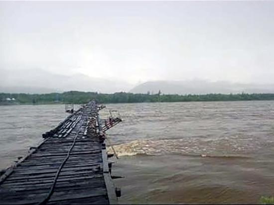 По забайкальскому сценарию: На севере Бурятии реки вышли из берегов