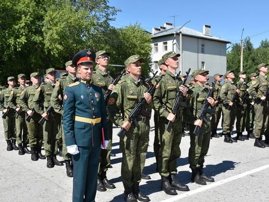 Студенты военной кафедры АлтГТУ приняли присягу