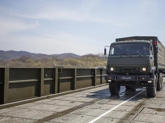 Перекроют движение по мосту в Приморье