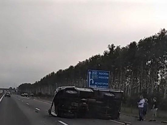 Четыре  машины разбились в страшном ДТП под Тулой