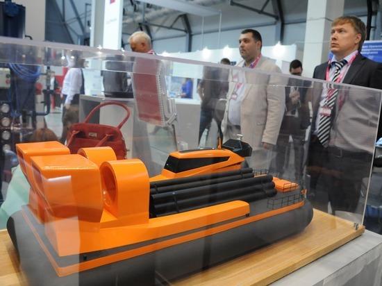 Нижегородцы представили проект судна на воздушной подушке на «Иннопром 2018»