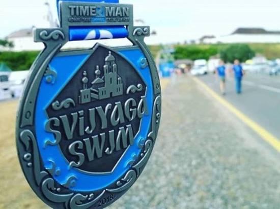 Организаторы заплыва Sviyaga Swim-2018 объяснили ошибку в надписях на медалях