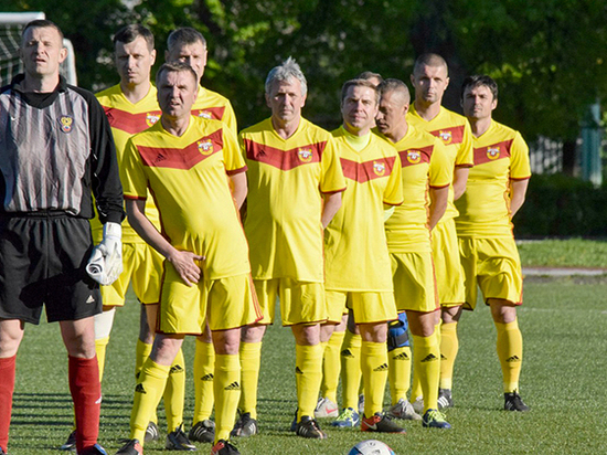 Тульский «Арсенал» возрождает футбол ветеранов