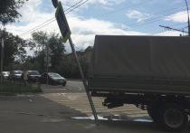 В Москве установили знак, который может уворачиваться от автомобилей
