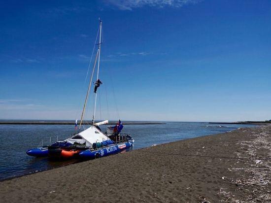 Экипаж экспедиции «Байкал-Аляска» прибыл в порт Анадыря