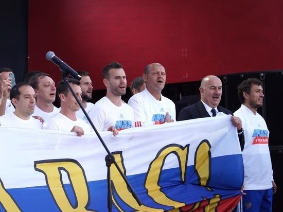 Минспорта может присвоить футболистам сборной РФ звания заслуженных мастеров спорта