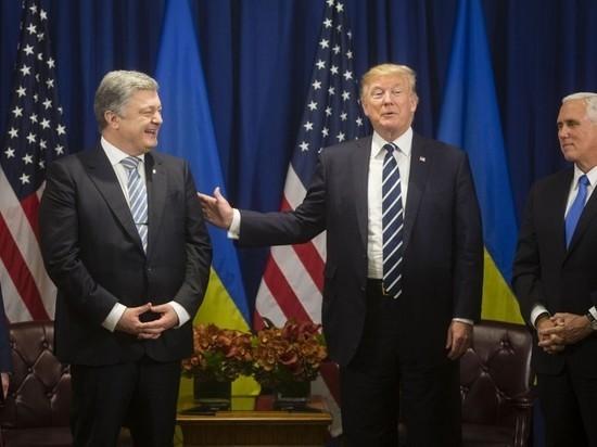 Порошенко поручил Трампу наставить Путина «на путь истинный»