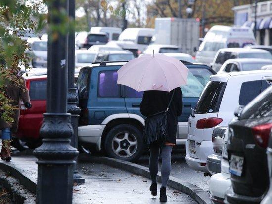 Синоптики: сильный дождь обрушится на Владивосток