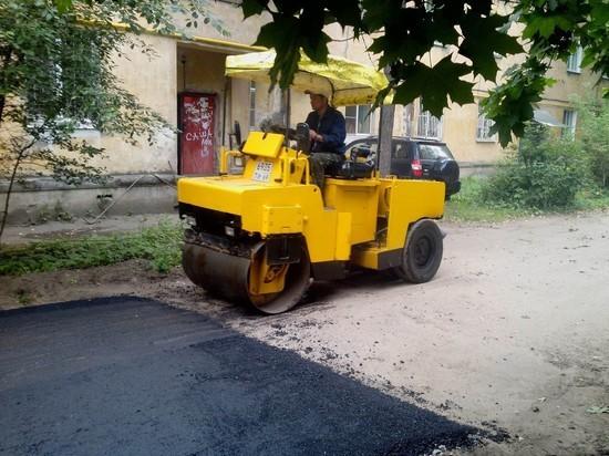Омские дворы будут ремонтировать только осенью