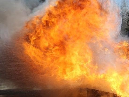 В Нижнекамске из-за возгорания химического катализатора пострадал один человек