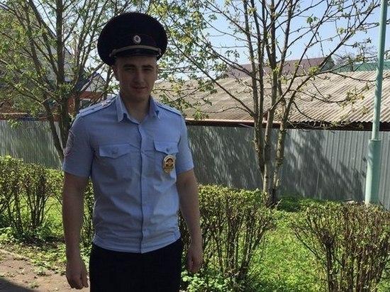 Рассказовского полицейского наградили за спасение женщины при пожаре