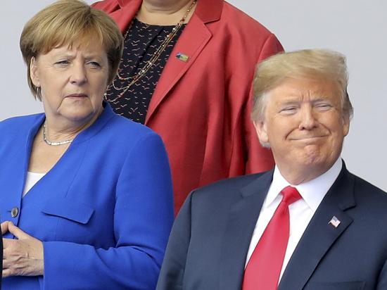«Браток» Трамп напал на Меркель: большой раздрай в НАТО