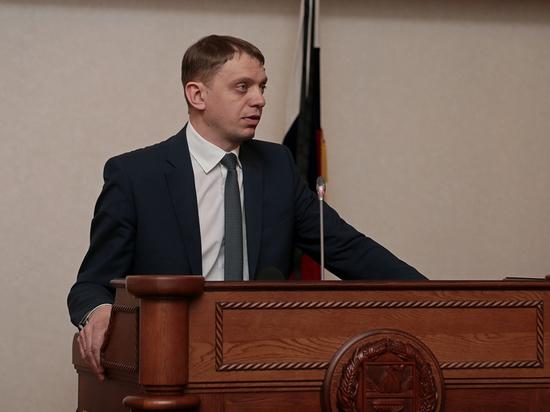 Врио заместителя губернатора Алтайского края подал в отставку