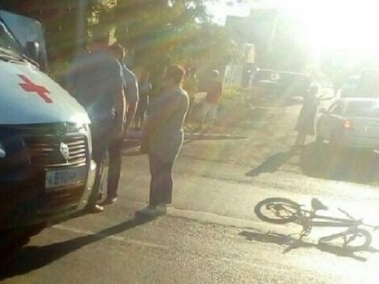В Саранске в ДТП серьезно пострадал пятилетний велосипедист