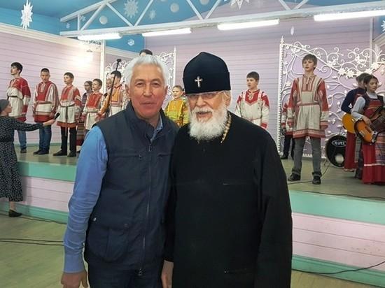 Глава Дагестана Владимир Васильев приехал в монастырь в Тверской области