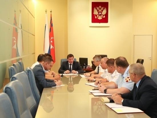 Андрей Бочаров обсудил с силовиками и правоохранителями безопасность региона