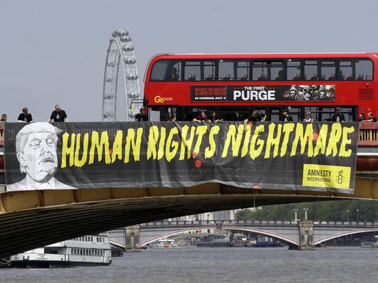 Британия приготовила Трампу изощренную встречу: массовые протесты и гей-парад