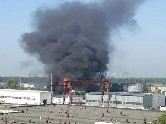 Названа причина возгорания котельного оборудования в Барнауле