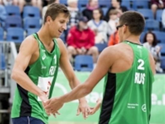 Пляжные волейболисты из Обнинска обыграли бразильцев