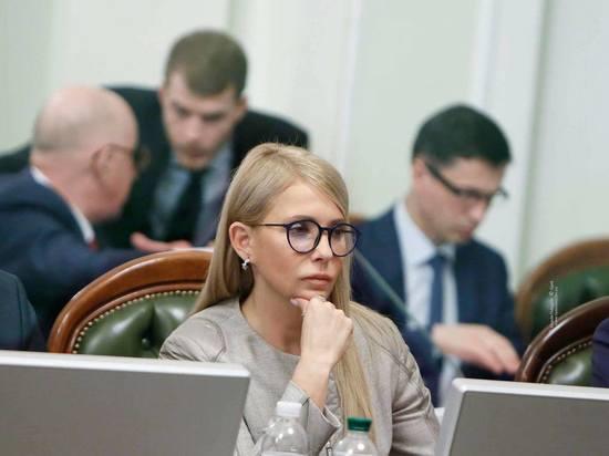 В Совфеде оценили планы Тимошенко по возвращению Крыма Украине